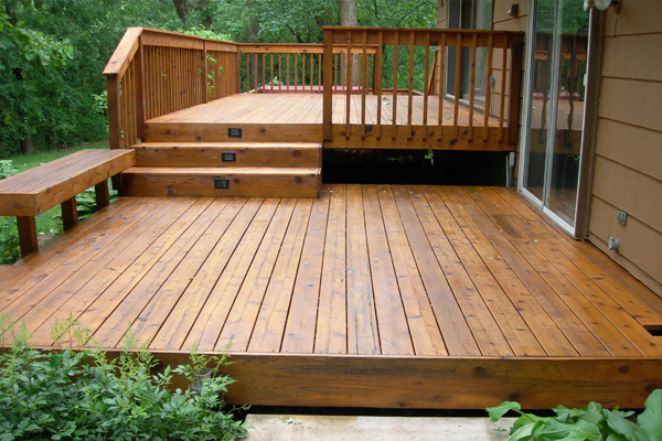 A-Southern Fence Wooden Deck Installation