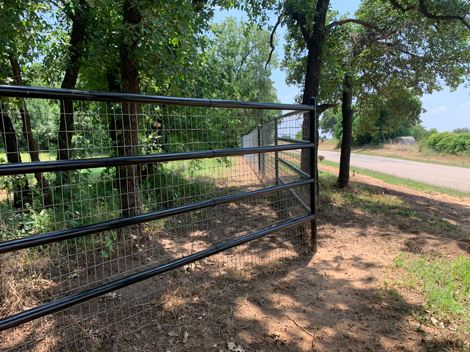 Metal Fence Installation